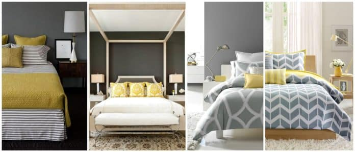30 Yellow and Gray Bedroom Ideas That'll Blow Your Mind ...