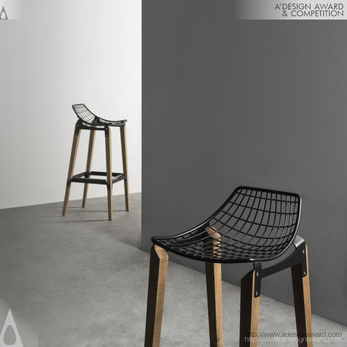 Carbon Barstool by HOMEL DESIGN FURNITURE