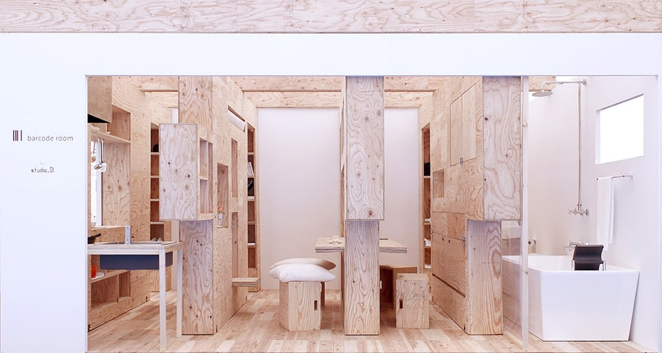 Barcode room by studio 01 21