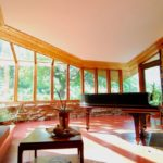 Frank lloyd wright style home in illinois