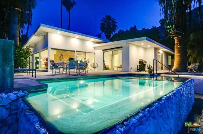 Mid century house with infinity pool 1