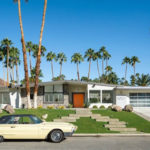 Mid-century house with oasis-like backyard by charles dubois