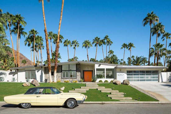 Mid century house with oasis like backyard by charles dubois 1