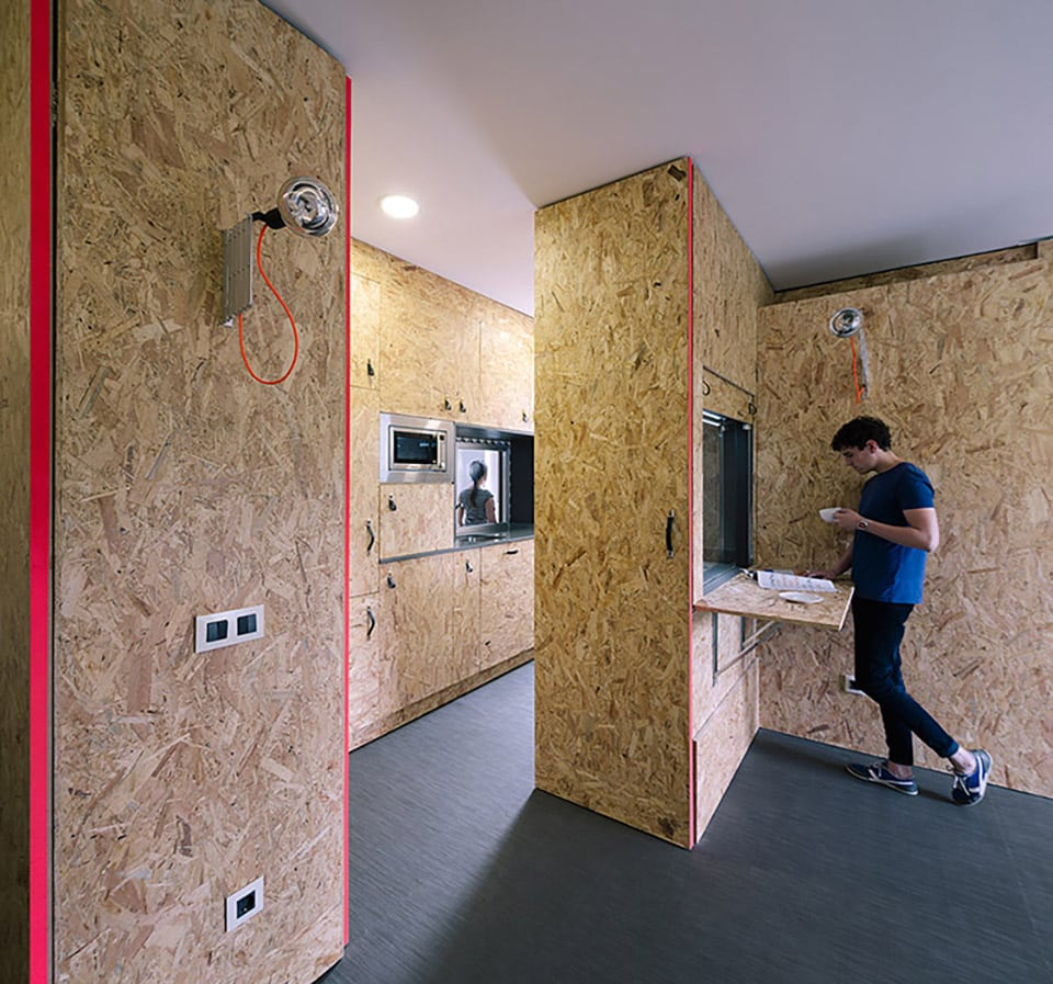 Pop up house by tallerde2 architects 11
