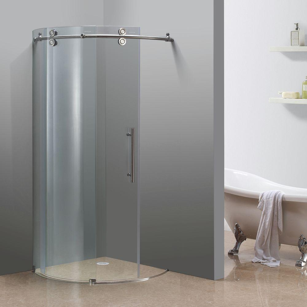 Round Shower Door
