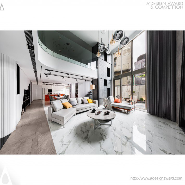 Pleasure of relaxation interior design by chien kai ma