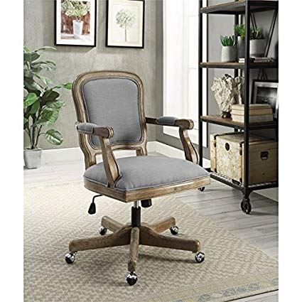 Rustic style office chair