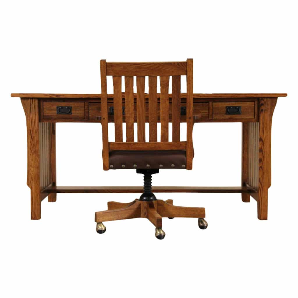 Craftsman or Mission Style Office Chairs