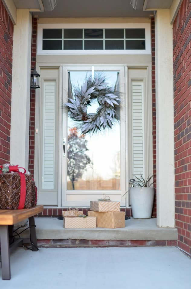 The story of feng shui of full glass front doors