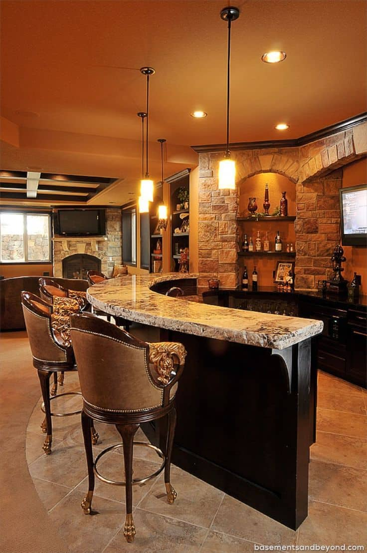50 Basement Bar Ideas To Rock Right Now Architecture Lab