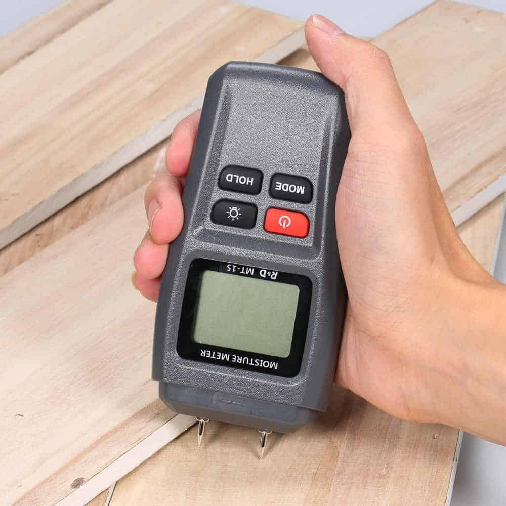 Superior Quality Moisture Meter Digital Moisture Meter 3 In 1 Wood Building Material Sawn Timber Hardened Materials And Ambient Temperature Humidity tester