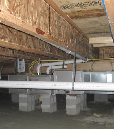 How to transform your crawl space into a storage area 1