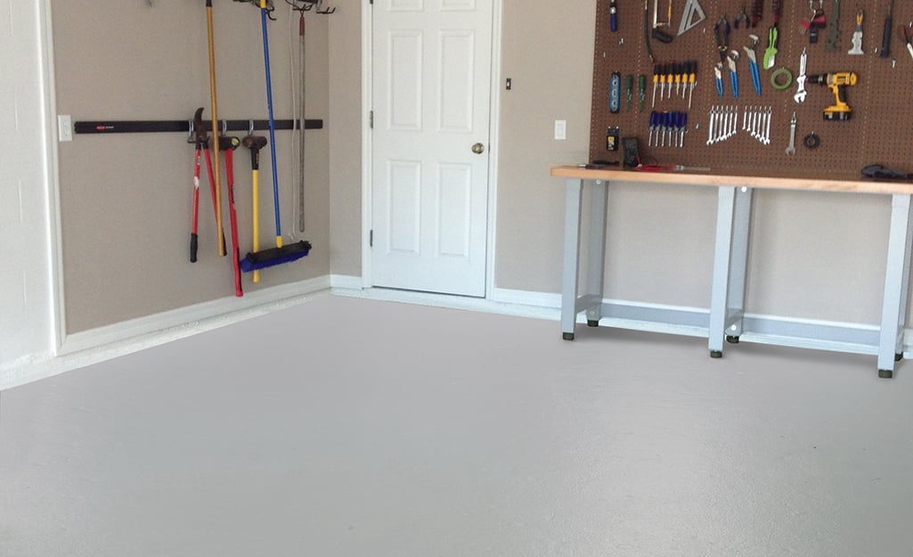 Paints and stains for your concrete basement and garage floors section 2