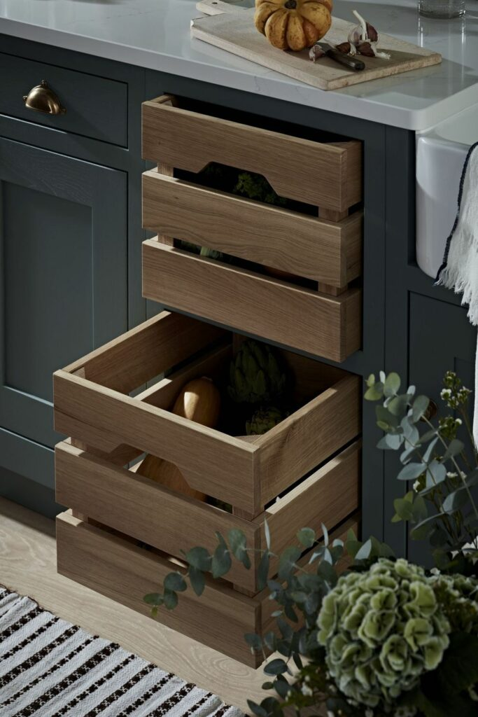 Kitchen makers haddon in thyme and burnished bronze from 15 000 1579712827