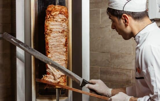 Meat doner and cook
