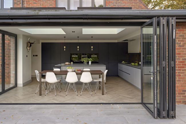 What is a bifold door and how does it work 3