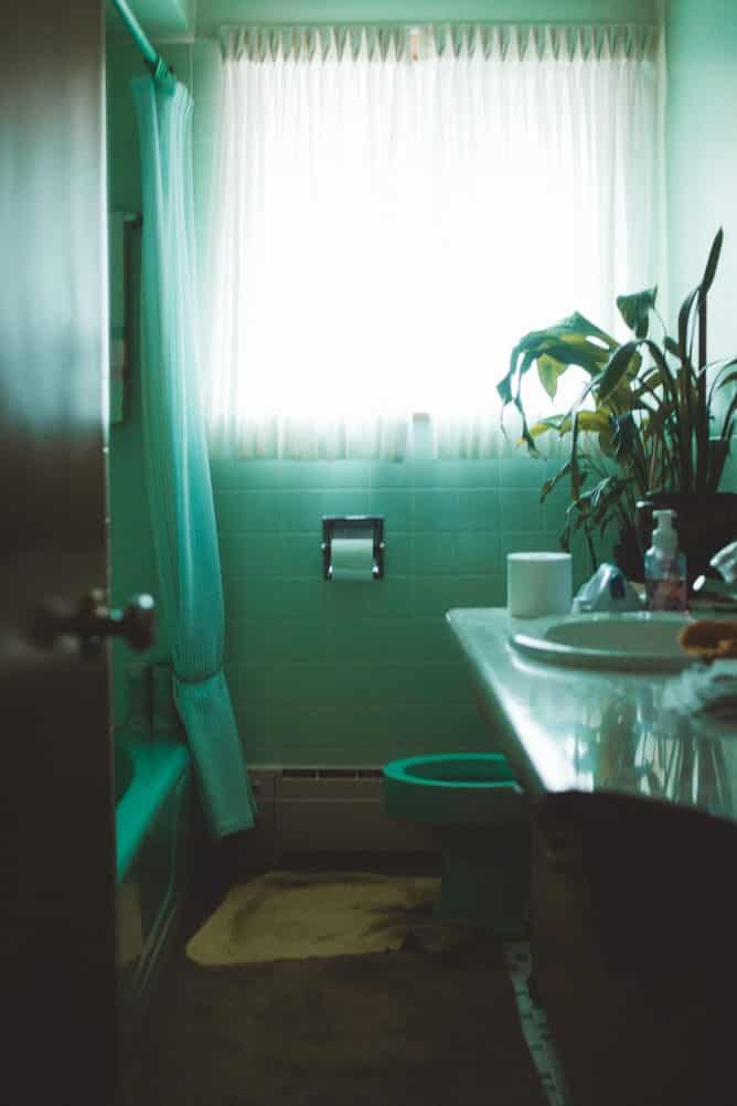 Blinds or curtains for your bathroom 1