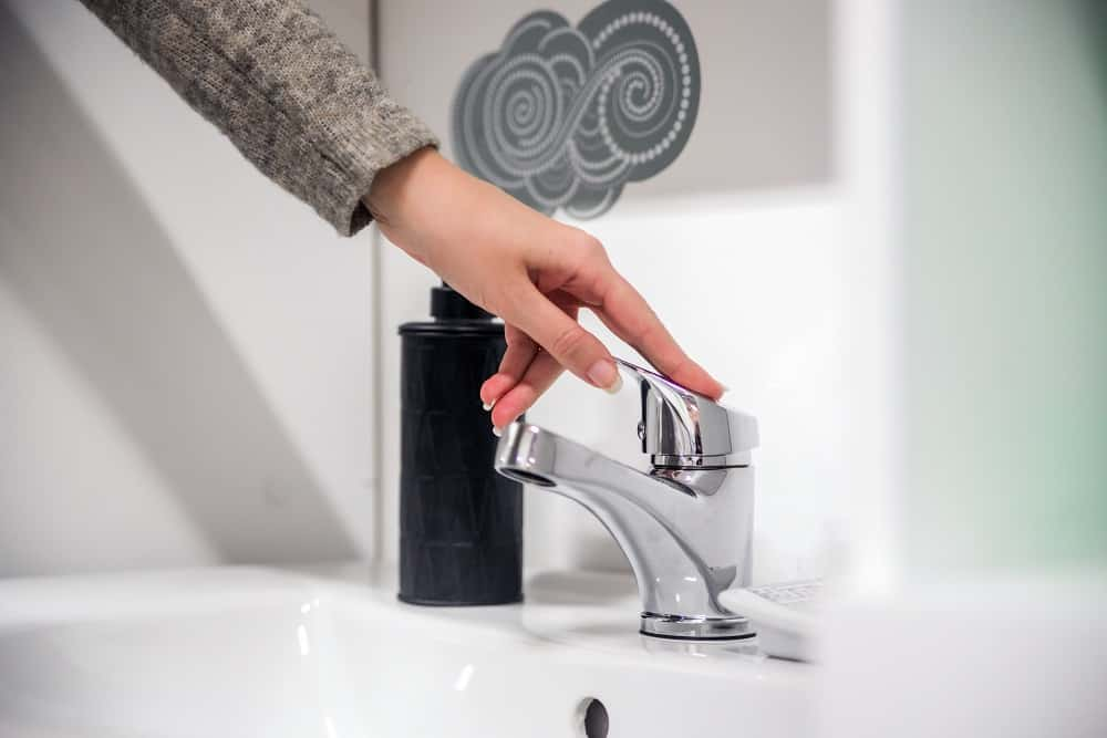 woman wash their hands. Hygiene. Cleaning Hands. Washing hands