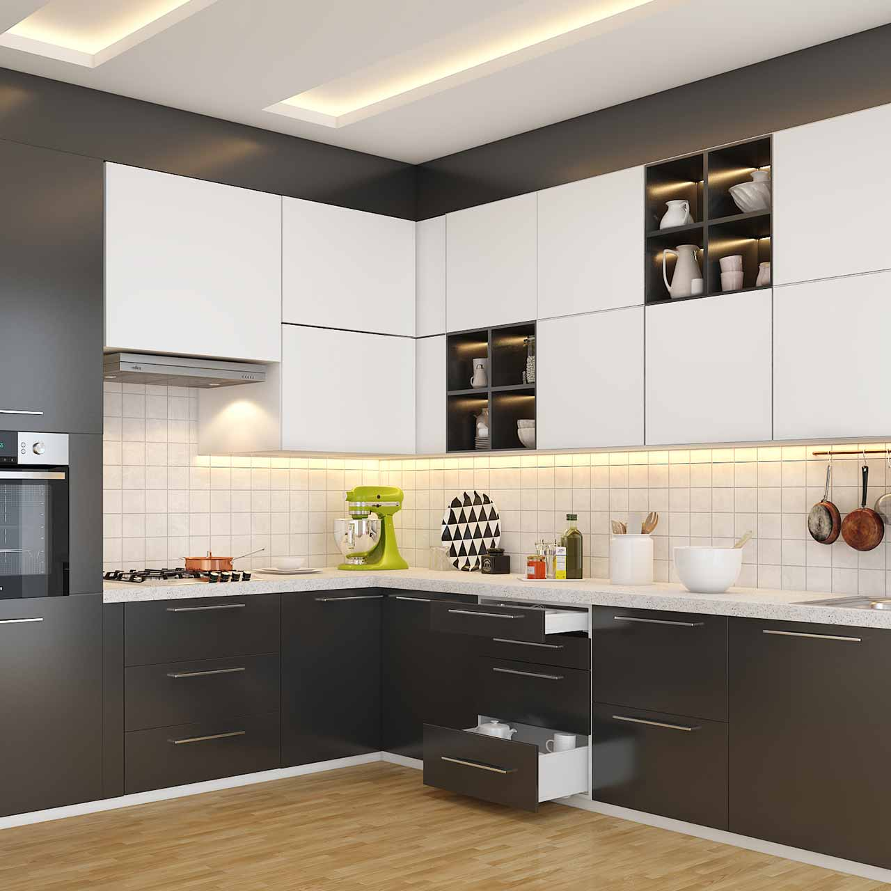Kitchen designs and layouts 4